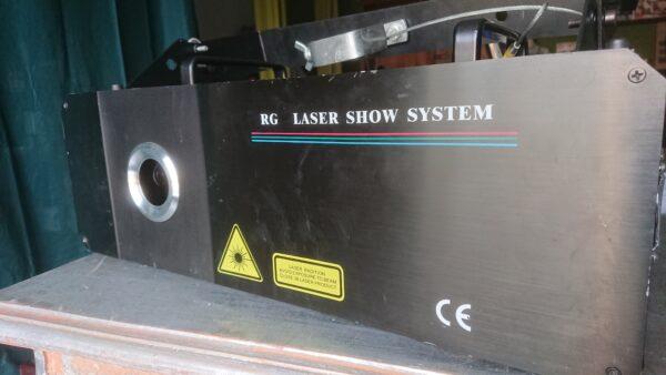 Laser Show Systems 2 Watt RGY LASER