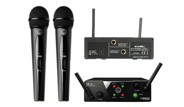 AKG WMS40 Draadloze microfoonset
