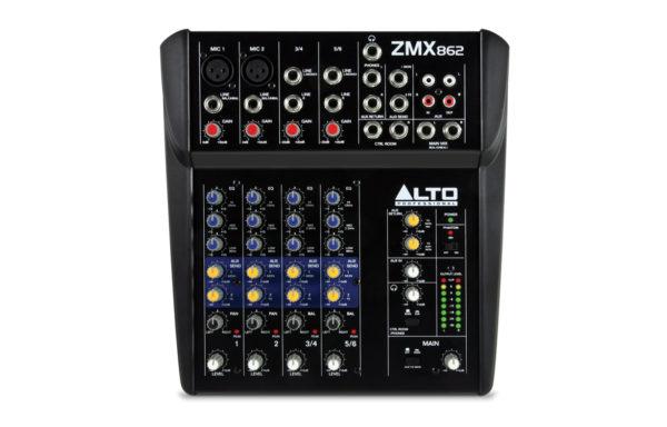 Alto-Pro ZMX862 live mixer