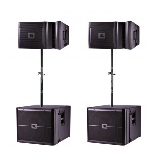 JBL VRX set (2x VRX932 + 2x SUB + Amprack)