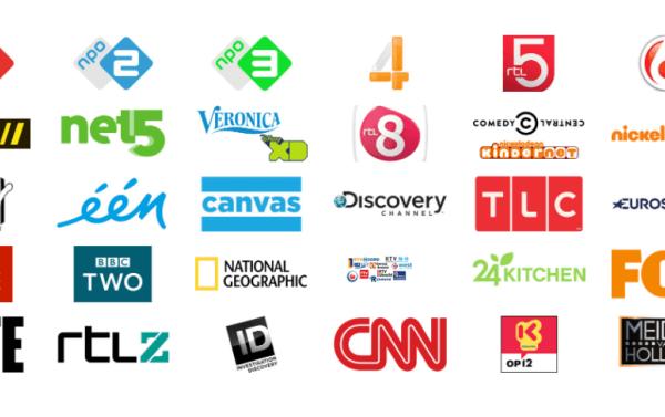 Digitenne TV ontvanger met NPO1,2,3