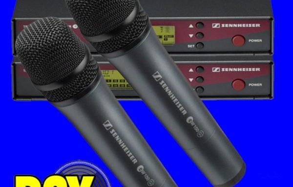 Sennheiser ew100 Draadloze Microfoonset