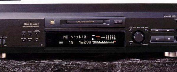 Sony MDS-JE520 Minidisc speler